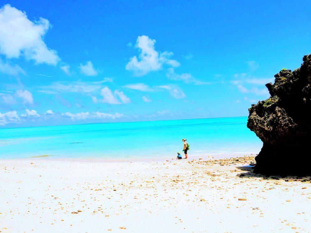 アルバック,南国,与論島,真空,砂浜