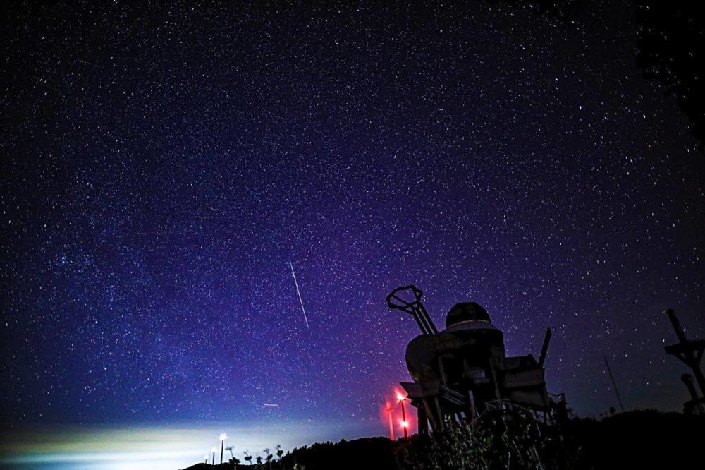 アルバック,星空,満天の星空,輝北,しし座流星群,真空ポンプ
